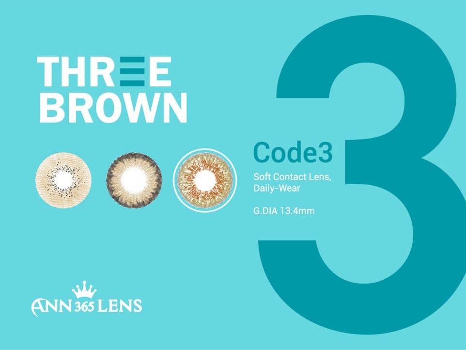 3 brown code 3 Explanation